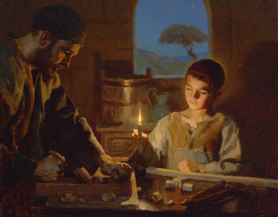 san jose trabajando con jesus
